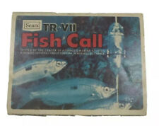 Vintage Fish Call by Sears Tr-Vii Original Price Tag Fishing Collection Nos