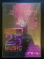 Saturday Night Live 25 Years Of Music Vol 3 RARE OOP DVD BUY 2 GET 1 FREE