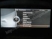 BMW E60 E90 E70 E71 F10 F20 F30 NBT CIC Navigation Aktivierung Freischaltung