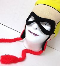 new DISNEY THE INCREDIBLES FACE MASK BEANIE winter knit ski hat Men/Women/Teen