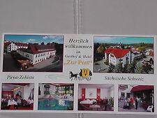 Ansichtskarte  Hotel Post Pirna-Zehista