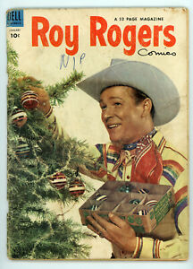 JERRY WEIST ESTATE: ROY ROGERS' TRIGGER #13 & ROY ROGERS #73 (Dell 1954)