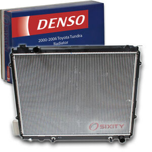 Denso Radiator for 2000-2006 Toyota Tundra 4.7L V8 Cooler Cooling Antifreeze ae