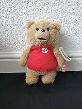 """Ted Talking Plush Toy Seth Mcfarlane 12"""" BNWT"""