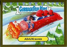 Garbage Pails Kids 2014 Series 1 Gold Parallel Base Card 66a ADAM BOMB