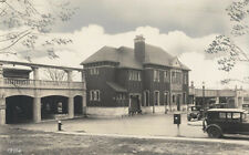 VINTAGE PHOTO OF WESTERN UNION W/ BEAUTIFUL OLD CARS - EAST ORANGE, NJ