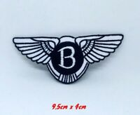 Bentley Motors Logo Iron on Sew on Embroidered Patch