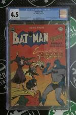 BATMAN #62 1951 CGC 4.5 VG+ DC Comics Origin Catwoman revealed as Selina Kyle