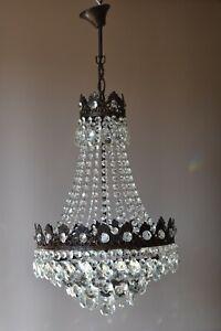 Antique French Vintage Crystal Chandelier Pendant Home Lighting on Sale Lamp