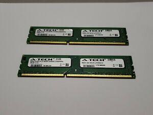 💥A-Tech 8GB (2x4GB) PC3-8500 Desktop DDR3 1066 MHz