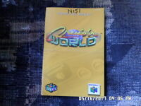 Cruis 'n World (Nintendo 64) Instruction Manual Booklet Only... NO GAME