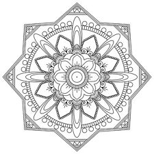 MANDALA ADULT COLOURING PAGES (2) - DOWNLOAD & PRINT - DIGITAL PDF 35 PAGES