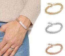 Crystal Rose Gold Plated Rhinestone Costume Bracelets