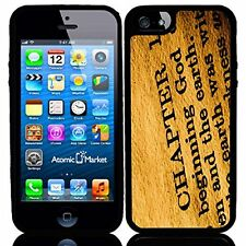 Religious Holy Bible In The Beginning For Iphone 6 Case Cover