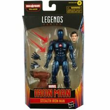 Marvel Legends Comic Stealth Iron Man 6-Inch Action Figure BY HASBRO BAF INC.