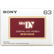 Une cassette k7  MINI DV HDV FULL HD 1080 SONY  63 minutes neuf