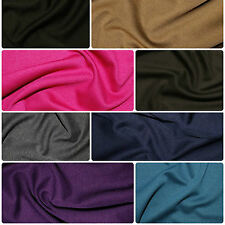 Ponte Roma Soft Knit Jersey Stretch Fabric Polyester Viscose Fabric 150cm Wide