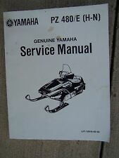 1986 Yamaha PZ480H  PZ480SEH Snowmobile Service Manual MORE IN OUR STORE  U