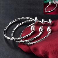 Bracelet Women Bangle Cuff Sculpture Hoop Jewelry Fashion