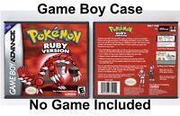 Pokemon Ruby Version - Game Boy Advance GBA Case - *NO GAME*