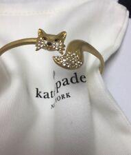KATE SPADE New York So Foxy Fox Bracelet w/KS Dust Bag New