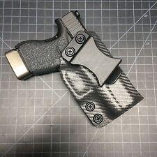 Glock 43  holster kydex iwb ( Gunmetal carbon fiber)