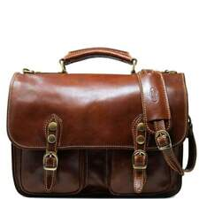 d3c8a37be58a Italian Brown Leather Briefcase for sale | eBay