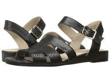 Naturalizer Kaye Black Mini Wedge Sandal Women Size 9.5 M