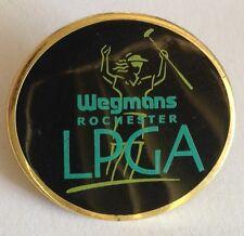 Wegmans Rochester LPGA LAdies Golf Association Pin Badge Rare Vintage (E4)