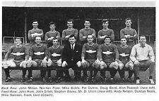 PLYMOUTH ARGYLE FOOTBALL TEAM PHOTO 1967-68 SEASON
