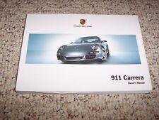 2007 Porsche 911 Carrera Owner User Manual Cabriolet Convertible S 4S Targa 997