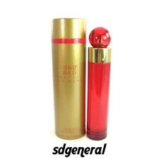 360 RED * PERRY ELLIS * Perfume for Women* EDP * 3.3 / 3.4 oz * BRAND NEW IN BOX