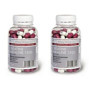 MEGABOL Creatine Alkaline 1500 2x 120 Caps BUFFERED CREATINE KRE-ALKALYN