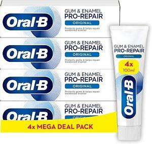 Oral-B Gum & Enamel Pro-Repair Original Toothpaste 4 x 100 ml