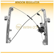 1pc New Front Left Driver Power Window Regulator w/ Motor Fit Cadillac/Chevy/GMC