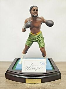 Art of Sport Joe Frazier AUTOGRAPHED Cold Cast Porcelain Figurine