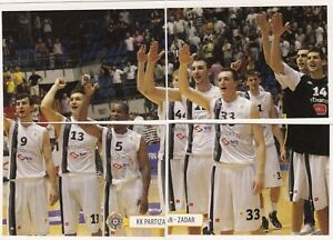 sticker basketball BOGDAN BOGDANOVIC #13 NBA Sacramento kings Partizan 2012