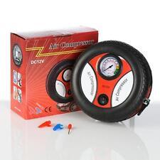 TYRE SHAPE 12v Car Motorcycle Motor Bike  Mini Tyre Air Compressor Inflator Pump