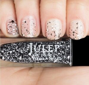NEW! Julep nail polish MAX ~ Black and white graffiti top coat ~ Nail Vernis