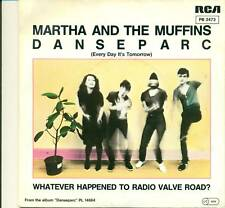 "MARTHA AND THE MUFFINS - Danseparc White Promo 7 "" S4162"