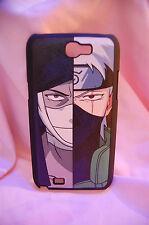 Samsung Galaxy Note 2 N7100  case Anime leather Phone case Zabuza & Kakashi
