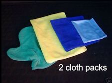 Best Quality Microfibre Towels - 2 x 4 Cloth Pack