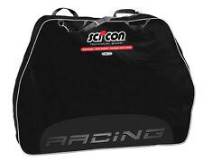 Sci-Con Bike Bag Travel plus Racing Black Fahrrad-schutzhülle
