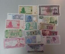 World Banknotes - Bulk Lot of 15 World Banknote Assortment of Notes Unc: Set # 2