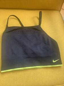 Nike Sports Bra Xs Black