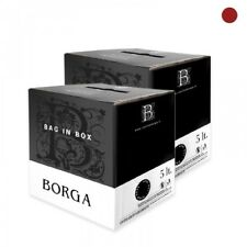 Merlot del Veneto in - 2 Bag in Box da 5 lt. - Vino Rosso sfuso - Cantine Borga