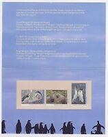 1993 AUSTRALIA POST STAMP PACK 'ANTARCTIC REGIONAL WILDLIFE II' - MNH