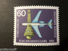 ALLEMAGNE FEDERALE, RFA 1965 TP 335, AVION BOEING 720 TRANSPORTS, neuf** MNH