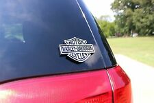 Harley Davidson Logo Rear Window Decal Sticker Car Decals Injection Molded NEW