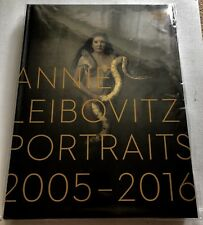 ANNIE LEIBOVITZ PORTRAITS 2005-2016 HAND SIGNED BOOK AUTOGRAPHED NEW